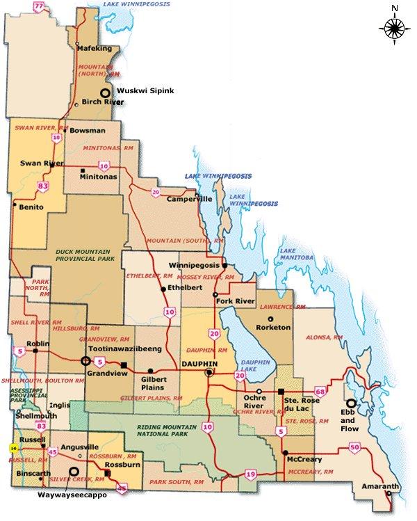 Manitoba's Tourist Regions